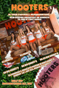 HOOTERS FOOTBALL2013 24x36 sm