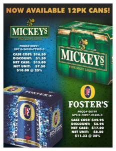 MICKEYS fOSTERS12PK 150dpi